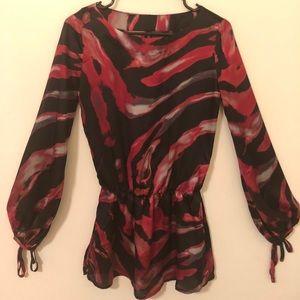 Bisou Bisou blouse size XS